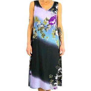 Citron Santa Monica Silk Dress Size Small